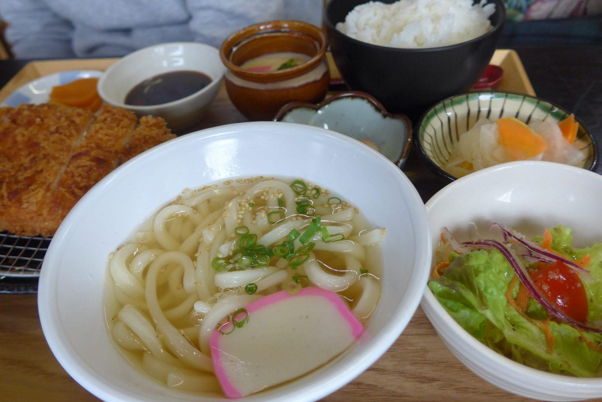 (G)福岡県朝倉市の『あきづきの湯』にある食事処『麺や天吉』絶品